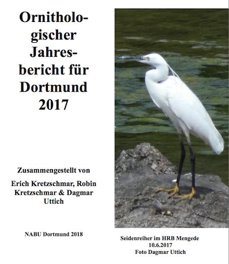 Ornithologischer Jahresbericht DO 2017 Deckblatt