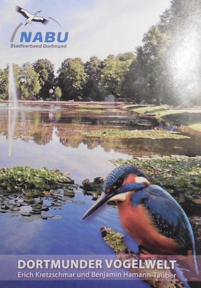 Buchprojekt Dortmunder Vogelwelt Titelseite